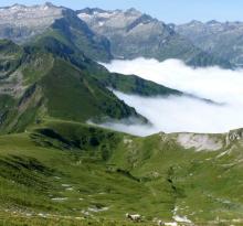 Crête de Bassies (Mont Ceint)