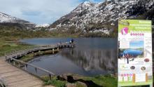 Pêche au bord de l'étang de Lers